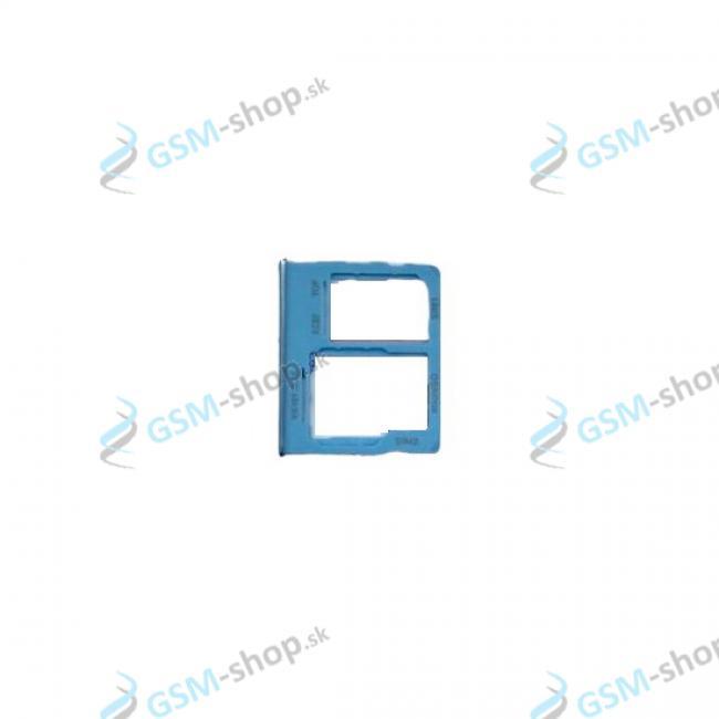 Dual SIM držiak Samsung Galaxy A32 5G (A326) modrý Originál