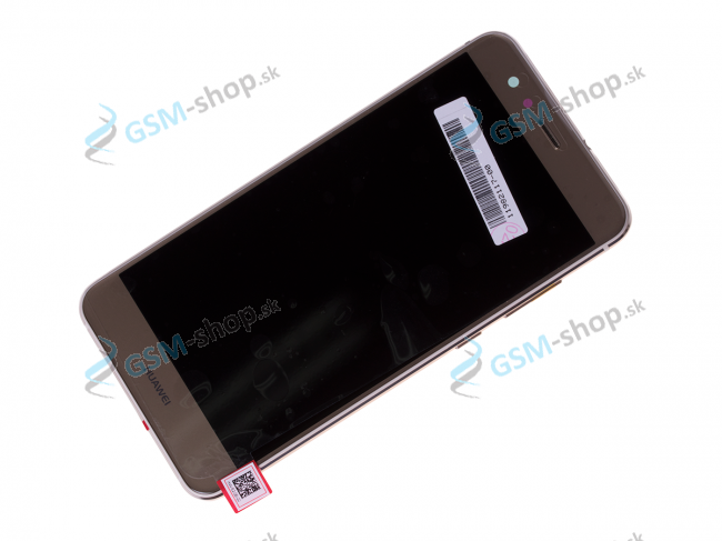 LCD displej Huawei P10 Lite a dotyk zlatý s krytom Originál