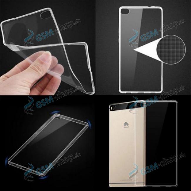 Púzdro silikón Huawei P8 Lite Ultra Slim priesvitné