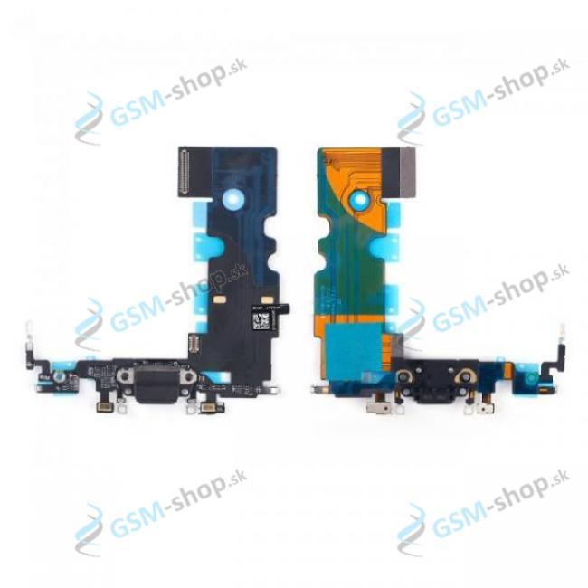 Flex Apple iPhone 8 pre nabíjanie čierny Originál