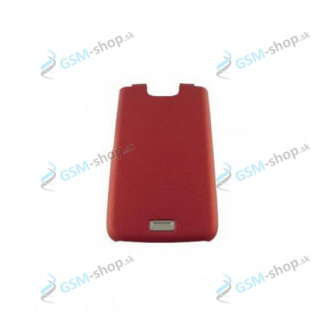 Kryt batérie Nokia E65 červený Originál
