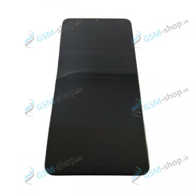 LCD Samsung Galaxy A12 (A125F) a dotyk čierny s krytom Originál
