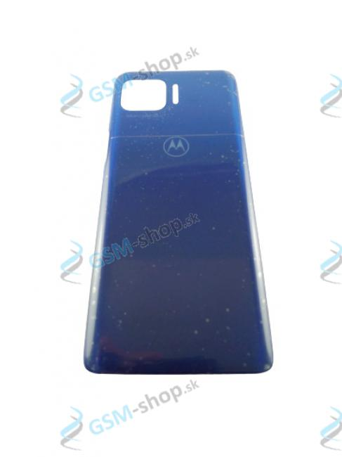 Kryt Motorola Moto G 5G Plus (XT2075) zadný modrý Originál