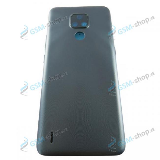 Kryt Motorola Moto E7 (XT2095) zadný šedý Originál