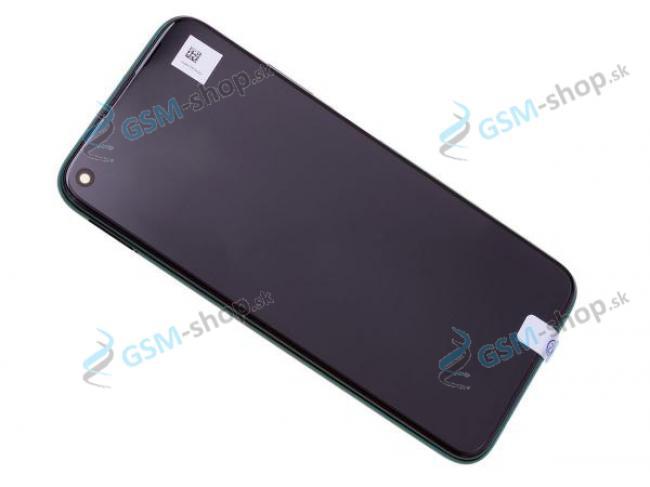 LCD Huawei P40 Lite a dotyk s krytom zeleným Originál